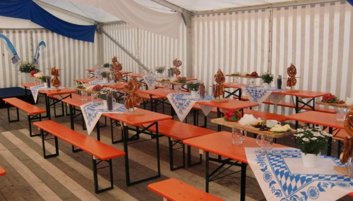 Zu Müllers, Langenmosen -Catering im Bierzelt