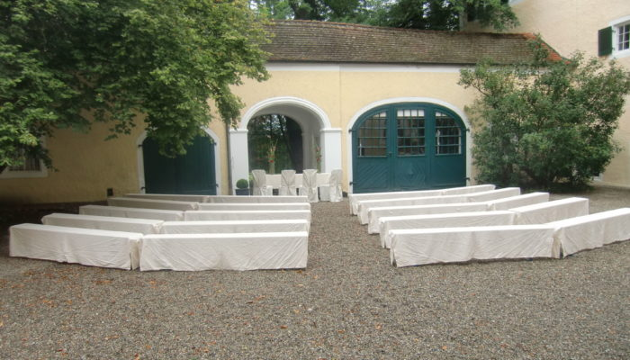 Zu Müllers, Langenmosen - Catering bei Trauung