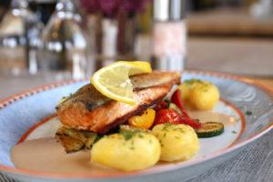 Zu Müllers, Langenmosen - Fischgericht